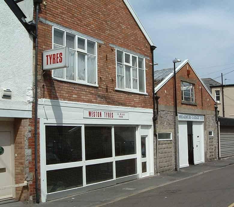 Exterior photo of Weston Tyres shop front in Weston super Mare